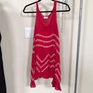 Dresses & Skirts - Free people red beach festival dress xs